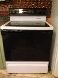 Black and white induction range oven Middletown, 21769