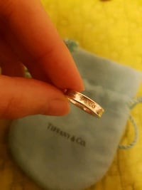 Tiffany and co 1837 silver ring