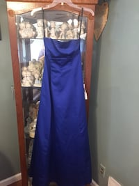 Brand New Royal Blue Gown Gorgeous for a Wedding or Prom  Hazlet, 07730