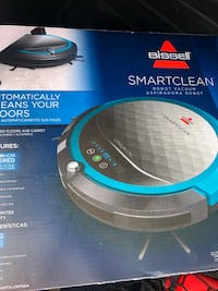 black and blue Bissell upright vacuum cleaner box Palmdale, 93550