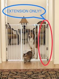 New, unused  Carlson Pet 6-Inch Extension for Extra TALL Pet Gate - Model 0946EW St Thomas, N5R 6M6
