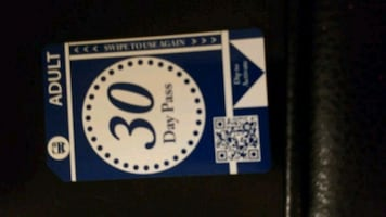 30 day bus pass