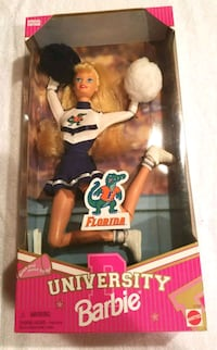 University of Florida Cheerleader Barbie Doll Fort Myers, 33912