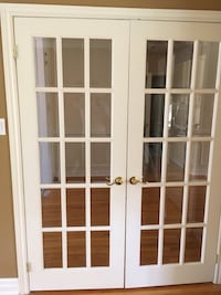 White wooden framed glass door Richmond Hill, L4C 0J5