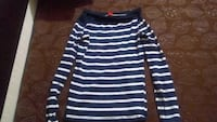women's blue and white striped sweater Mumbai