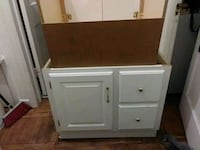 white and brown wooden cabinet Arlington, 22204