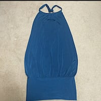 Blue halter neck sleeveless shirt Mississauga