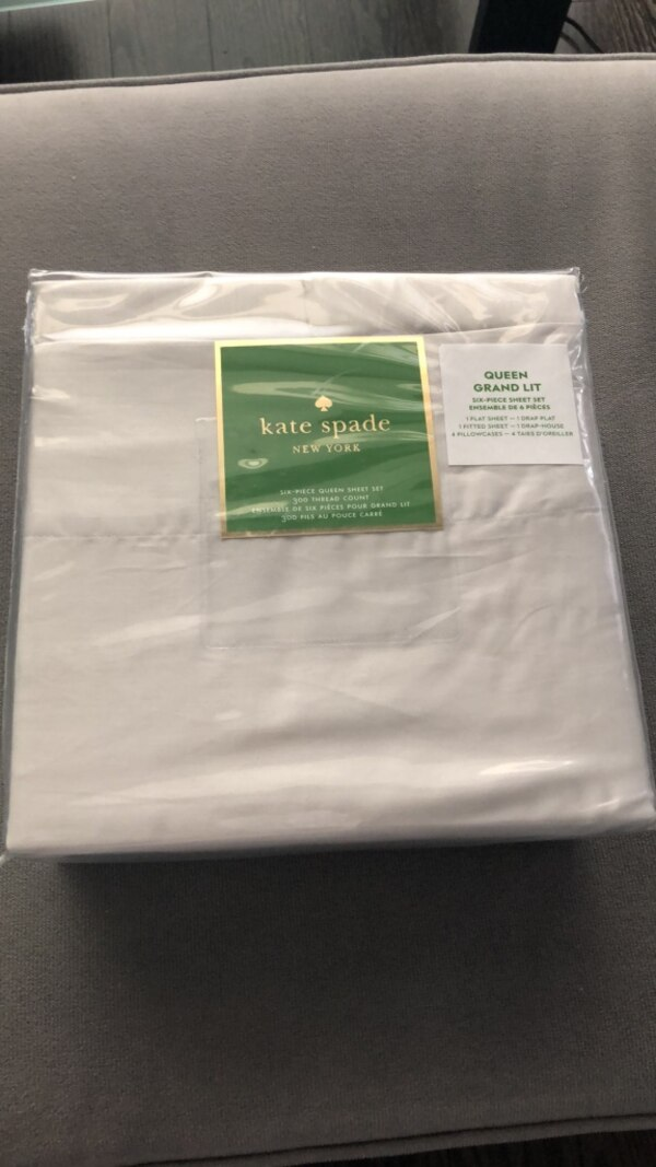 Kate Spade bed sheets Queen
