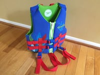 Speedo child life jacket vest never used 22 km