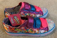 Girls Size 3 Sketchers Light Up Shopkins Burke, 22015