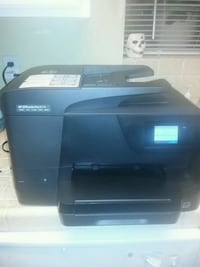 black and gray HP desktop printer Las Vegas, 89108