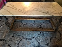 Custom Steel welded/Marble coffee table Albuquerque, 87112