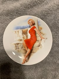 Limited Edition Marilyn Monroe Plate South Gate, 90280