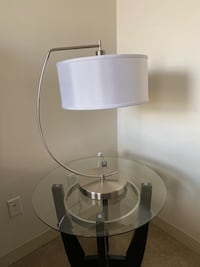 Curved Lamp for side table