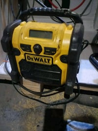 Radio and charger for all dewalt batteries mad