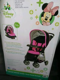 New Minnie mouse stroller &carseat set Union City, 94587