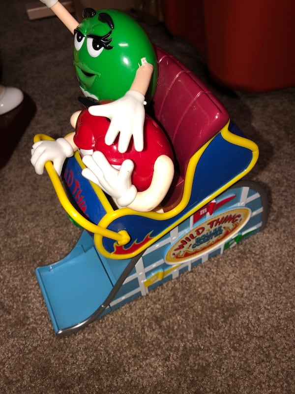 M&M Motorcyle and Roller Coaster dispenser (collectibles) ebd918fa-e7b0-4048-95ca-6fb40bcc7140