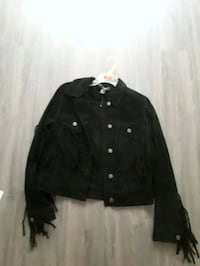 black button-up jacket St. Catharines, L2R 6B5