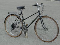 """WOMAN'S VINTAGE ALL ORIGINAL 27"""" RALEIGH SPRITE 12 SPD ROAD HYBRID CRUISER STYLE BIKE WITH 21"""" FRAME SIZE! Mississauga"""