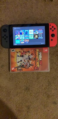 Nintendo switch with downloaded and hardcopy game(s) Fairfax, 22032