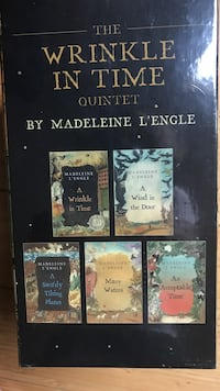 A Wrinkle in Time Set of 5 books
