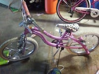 pink and black cruiser bike South Sioux City, 68776