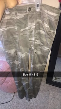 gray and white camouflage pants Discovery Bay, 94505