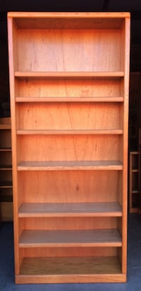 7 Tier Oak Bookcase / Bookshelf by Thornwood Lakeville, 55044