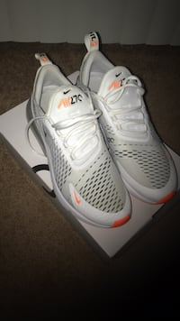 pair of white Nike running shoes Laurel, 20708