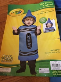 Blue crayon costume toddler New Hyde Park, 11040