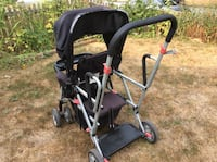 baby's black and gray stroller Vancouver, V5W