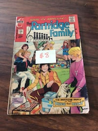 JUST REDUCED comic book The Partridge family (1)   Rockville