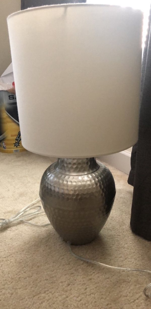 Side table lamps (2)