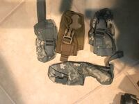 Militry type small bags with adjustable belt , $8 each Vienna, 22182