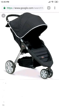 baby's black and gray jogging stroller Mississauga, L5R 0A9