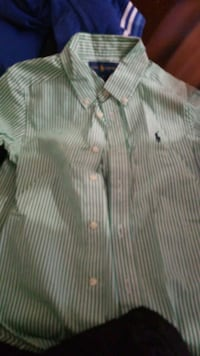 Ralph lauren button up Baltimore, 21229