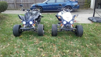 3 wheel reverse scorpion trike motorcycles. Street legal!!