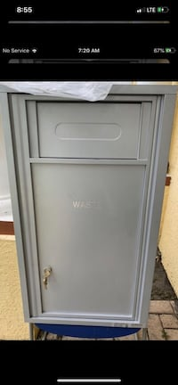 Brand new 4c08s commercial mailbox with bin 3 keys unbelievable price