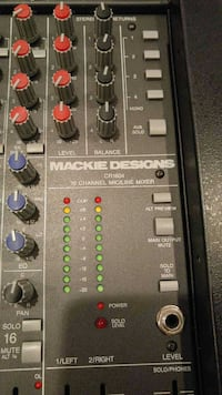 Mackie CR 1604 16 channel analog mixer Centreville, 20121