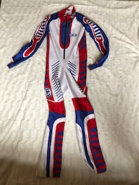 white, red, and blue motocross pants Georgetown, L7G 6J3