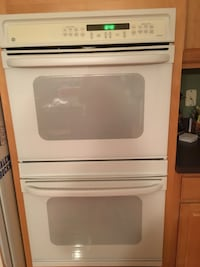 White 30 inch double oven. Works fine  Canton, 48187
