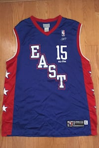 Vince Carter #15 All Star Game Jersey 2004 Reebok Raptors Vintage LG