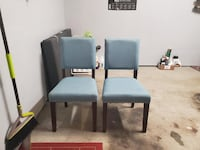 Blue Accent Chairs Hillsboro