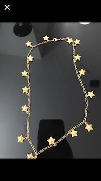 Gold star necklace Las Vegas, 89129