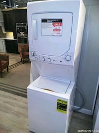 white stackable washer and dryer McLean, 22102