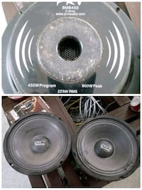 "PRV 8"" midbass speakers Rouzerville"