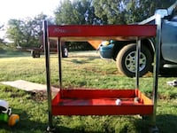 red and black utility trailer Lindsay, 73052