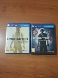 PS4 UNCHARTED SERISI 1.2.3.4