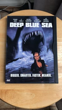 Deep Blue Sea DVD Movie Laurel