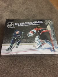 NHL Big League Manager Board Game Burnaby, V5C 6N4